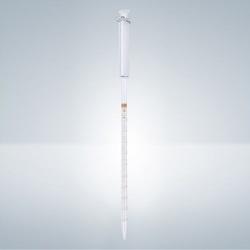 Dělená pipeta s piestom, 1:0,01 ml