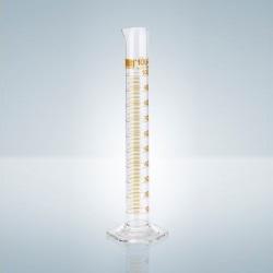Odmerný valec A, hnedá tlač, 10 ml