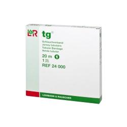 TG: tubulárny obväz, 20 m / veľkosť 1 (1,4 cm)