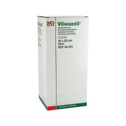 Vliwazell: kompresy 10×20cm, ST/30×1 ks
