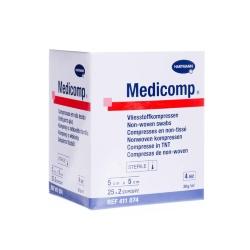 Medicomp sterilné, 5 x 5 cm (bal 25 x 2 ks)