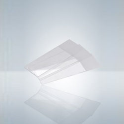 Podložné sklo 76×26, brúsené, matované (50 ks)