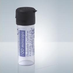 Kapiláry bez heparínu, 20 µl, (100 ks)