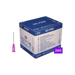 Ihla KD-FINE 24G (0.55×25), fialová (100 ks)
