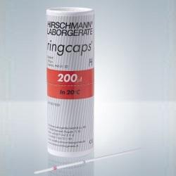 Kapilára Ringcaps, 200 µl, (100 ks)