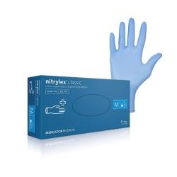 NITRYLEX Classic (modré), 100 ks