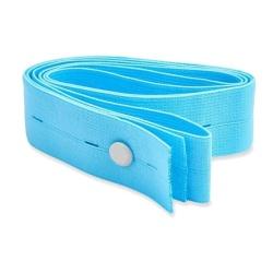 KTG / fetálny pás (6×120 cm, modrý, gombíkový)