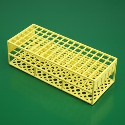 Stojanček žltý (<121°C) priemer skúmavky <13 mm