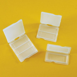 Krabička na 3 mikroskopické sklá