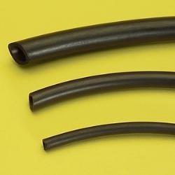 Hadička z čierneho NEOPRENU 4×6 mm, 10 metrov