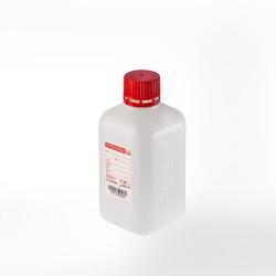 Fľaša PE 500 ml, STERIL +Thiosíran