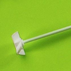 PTFE miešaca hriadeľ (6×400 mm) s křížem: 40 mm