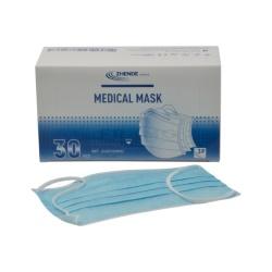 MEDICAL MASK: 3 vrstvy, typ IIR, nesterilné, 30 ks